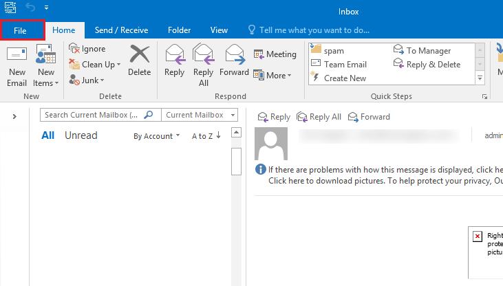 import PST files to outlook